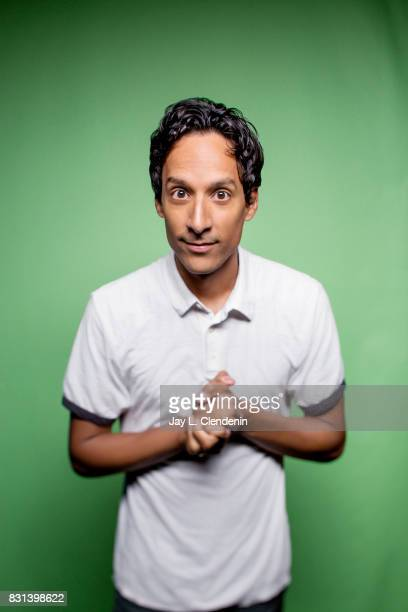 Actor Danny Pudi from the television series 'DuckTales' is photographed in the LA Times photo studio at ComicCon 2017 in San Diego CA on July 21 2017...
