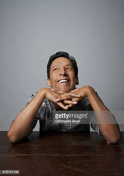 Actor Danny Pudi is photographed for Entertainment Weekly Magazine on January 25 2014 in Park City Utah