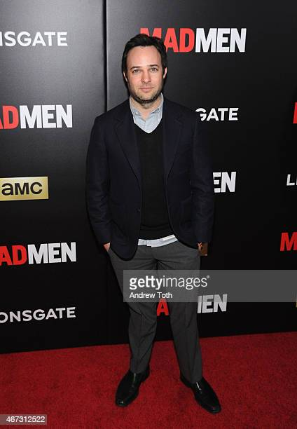 Actor Danny Strong attends the 'Mad Men' New York special screening at The Museum of Modern Art on March 22 2015 in New York City