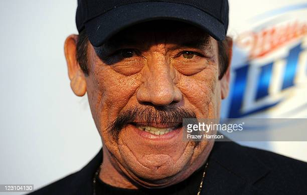 Actor Danny Trejo arrives at the Screening of FX's 'Sons Of Anarchy' Season 4 Premiere at ArcLight Cinemas Cinerama Dome on August 30 2011 in...