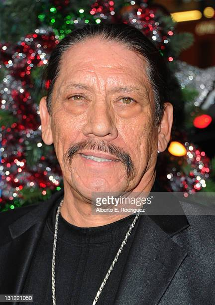 Actor Danny Trejo arrives to the premiere of New Line Cinema's 'A Very Harold Kumar 3D Christmas' at Grauman's Chinese Theatre on November 2 2011 in...