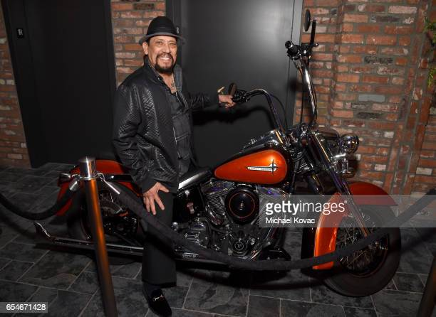 Actor Danny Trejo attends day two of TAO Beauty Essex Avenue and Luchini LA Grand Opening on March 17 2017 in Los Angeles California