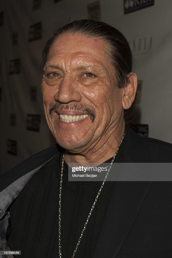Actor <a gi-track='captionPersonalityLinkClicked' href=/galleries/search?phrase=Danny+Trejo&family=editorial&specificpeople=2187220 ng-click='$event.stopPropagation()'>Danny Trejo</a> attends Mending Kids International Celebrity Poker Tournament - Red Carpet at The London Hotel on December 1, 2012 in West Hollywood, California.