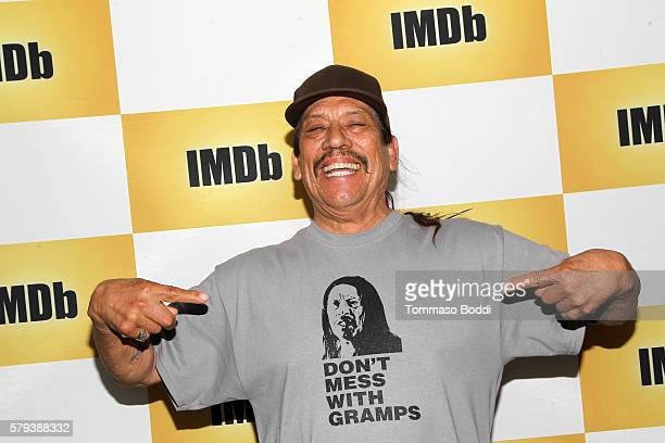 Actor Danny Trejo attends the IMDb Yacht at San Diego ComicCon 2016 Day Three at The IMDb Yacht on July 23 2016 in San Diego California