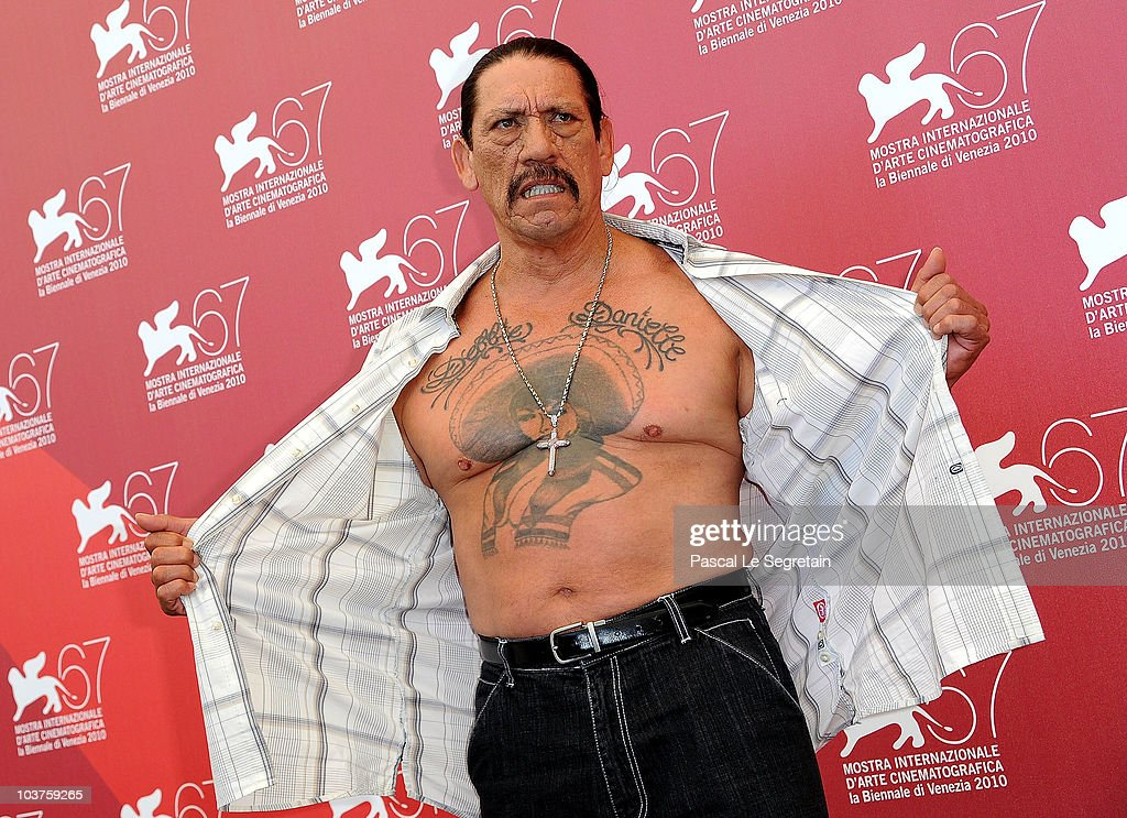 Actor Danny Trejo attends the 'Machete' photocall during the 67th Venice Film Festival at the Palazzo del Casino on September 1 2010 in Venice Italy