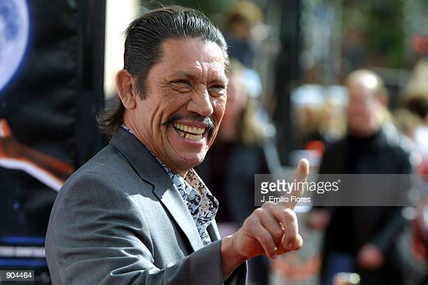 Actor Danny Trejo attends the premiere of the 20th anniversary version of director Steven Spielberg's movie 'ET The ExtraTerrestrial' March 16 2002...