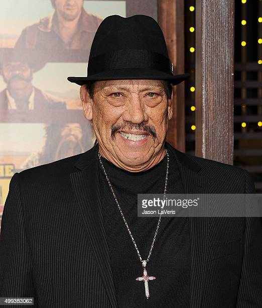 Actor Danny Trejo attends the premiere of 'The Ridiculous 6' at AMC Universal City Walk on November 30 2015 in Universal City California