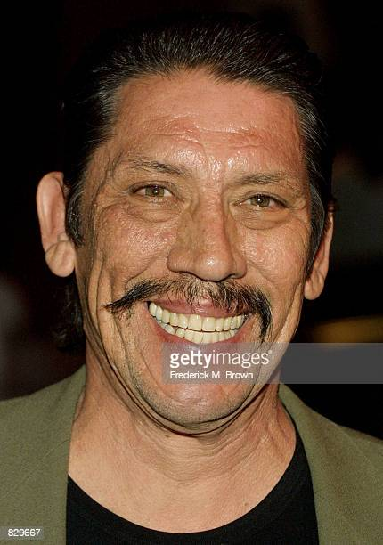 Actor Danny Trejo attends the Youth Improving NonProfit for Children Awards March 4 2002 in Los Angeles CA Former NBA basketball player Earvin...