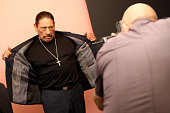 Actor Danny Trejo of El Rey Network's 'From Dusk Till Dawn The Series' attends the Getty Images Portrait Studio powered by Samsung Galaxy at 2015...