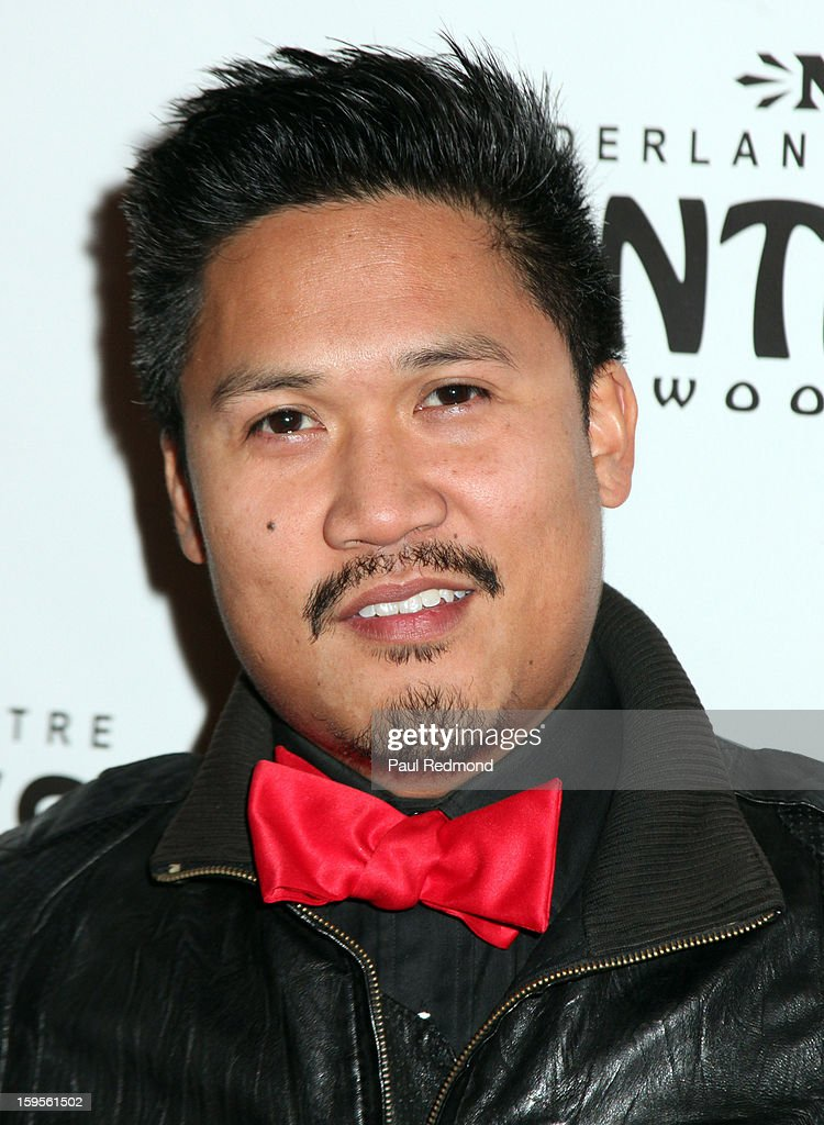 Actor <a gi-track='captionPersonalityLinkClicked' href=/galleries/search?phrase=Dante+Basco&family=editorial&specificpeople=640243 ng-click='$event.stopPropagation()'>Dante Basco</a> arrives at 'Peter Pan' Los Angeles play opening night at the Pantages Theatre on January 15, 2013 in Hollywood, California.