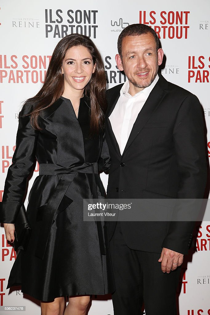 Actor <a gi-track='captionPersonalityLinkClicked' href=/galleries/search?phrase=Dany+Boon&family=editorial&specificpeople=612915 ng-click='$event.stopPropagation()'>Dany Boon</a> and his wife Yael Boon attends 'Ils sont Partout' Paris Premiere at Gaumont Capucines on May 31, 2016 in Paris, France.