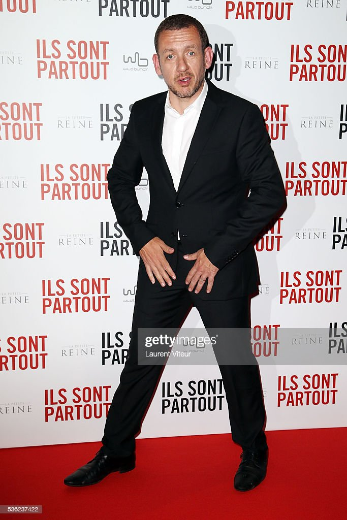 Actor <a gi-track='captionPersonalityLinkClicked' href=/galleries/search?phrase=Dany+Boon&family=editorial&specificpeople=612915 ng-click='$event.stopPropagation()'>Dany Boon</a> attends 'Ils sont Partout' Paris Premiere at Gaumont Capucines on May 31, 2016 in Paris, France.