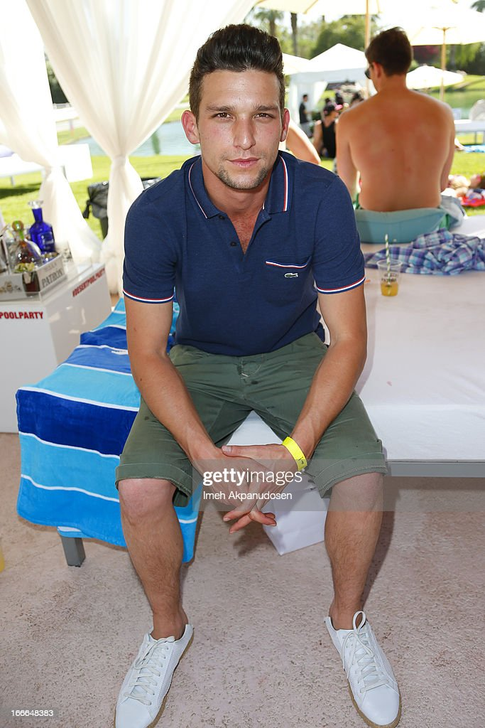 Actor <a gi-track='captionPersonalityLinkClicked' href=/galleries/search?phrase=Daren+Kagasoff&family=editorial&specificpeople=5093473 ng-click='$event.stopPropagation()'>Daren Kagasoff</a> attends the FIJI Water At Lacoste L!VE Desert Pool Party on April 14, 2013 in Palm Springs, California.