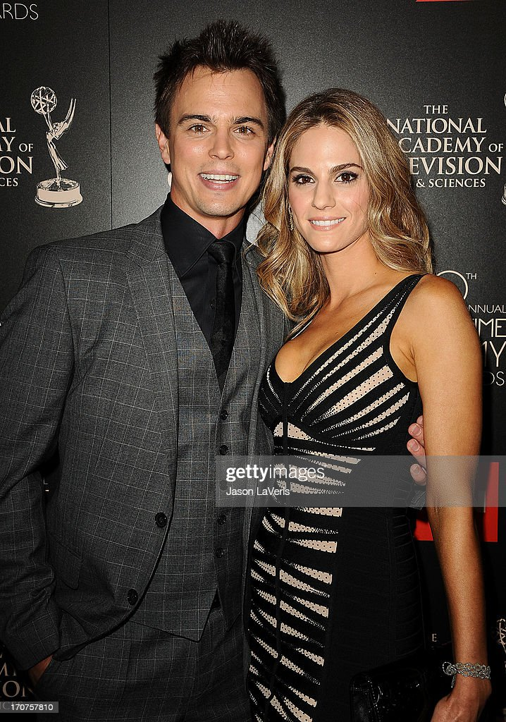 Actor Darin Brooks and actress Kelly Kruger attend the 40th annual Daytime Emmy Awards at The Beverly Hilton Hotel on June 16, 2013 in Beverly Hills, California.