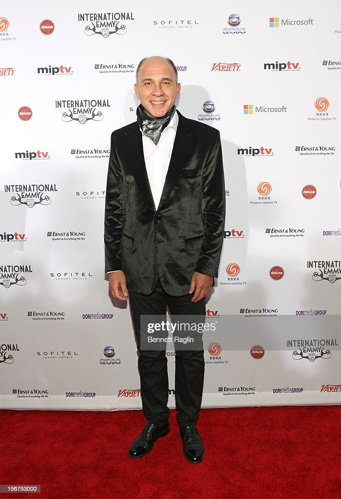 Actor Dario Grandinetti attends the 40th Annual International Emmy Awards at the Hilton New York on November 19, 2012 in New York City.