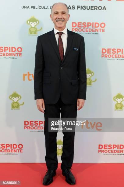 Actor Dario Grandinetti attends the 'Despido procedente' photocall at Callao cinema on June 29 2017 in Madrid Spain