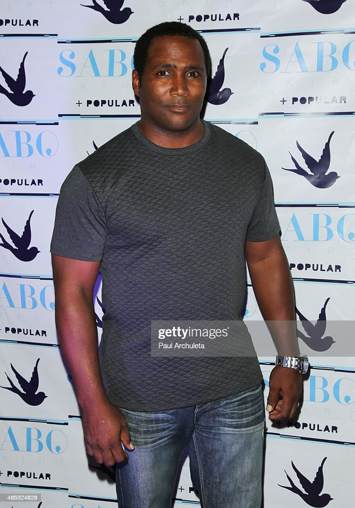 Actor Darius Cottrell attends Sabo Skirt's 2015 PreVMA Party at SkyBar at the Mondrian Los Angeles on August 26 2015 in West Hollywood California