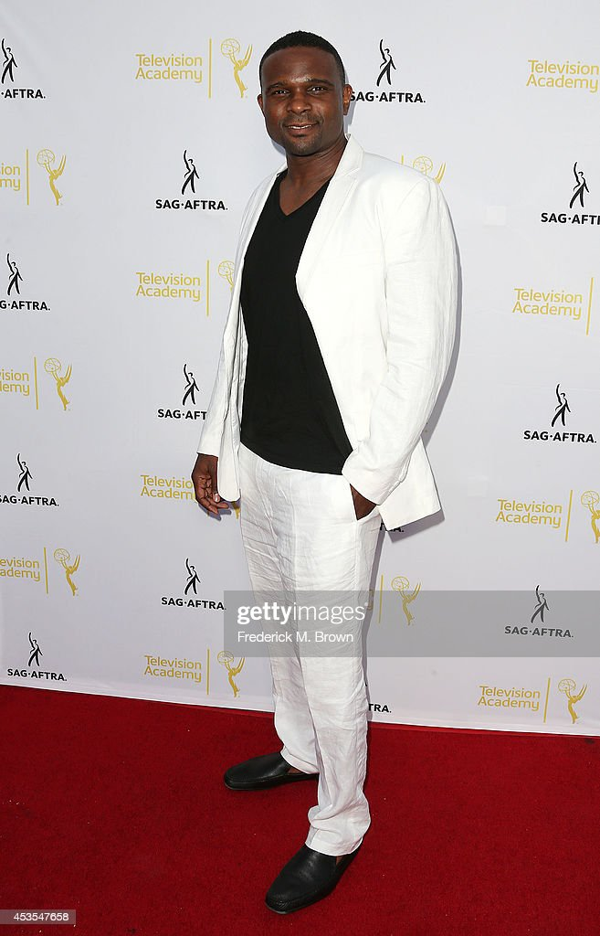 Actor Darius McCrary attends the Television Academy and SAG-AFTRA Presents Dynamic & Diverse: A 66th Emmy Awards Celebration of Diversity at the Leonard H. Goldenson Theatre on August 12, 2014 in North Hollywood, California.