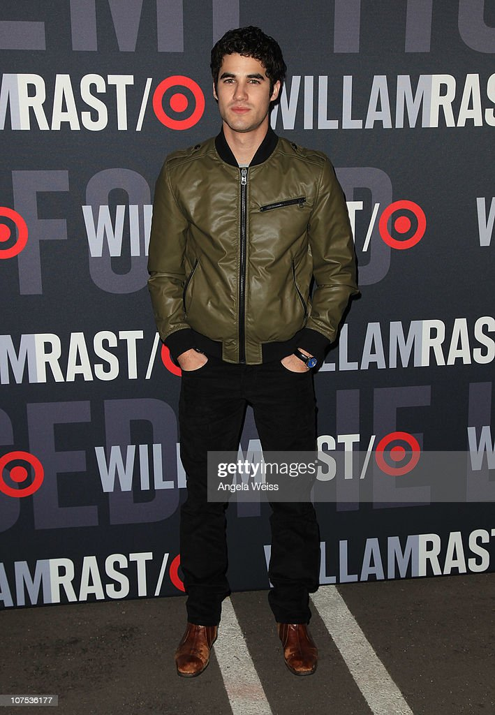 Actor Darren Criss arrives at the launch of Target's & William Rast's Limited Edition Collection shopping event at Factory Place on December 11, 2010 in Los Angeles, California.