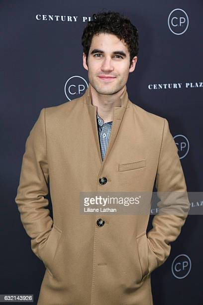Actor Darren Criss arrives at the unveiling celebration of the new Century Plaza Hotel and residences in Century City on January 19 2017 in Los...