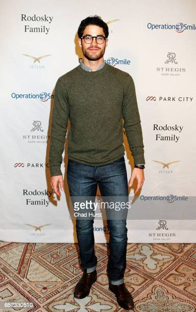 Actor Darren Criss attends Operation Smile's Celebrity Ski Smile Challenge Presented by the Rodosky Family on March 11 2017 in Park City Utah