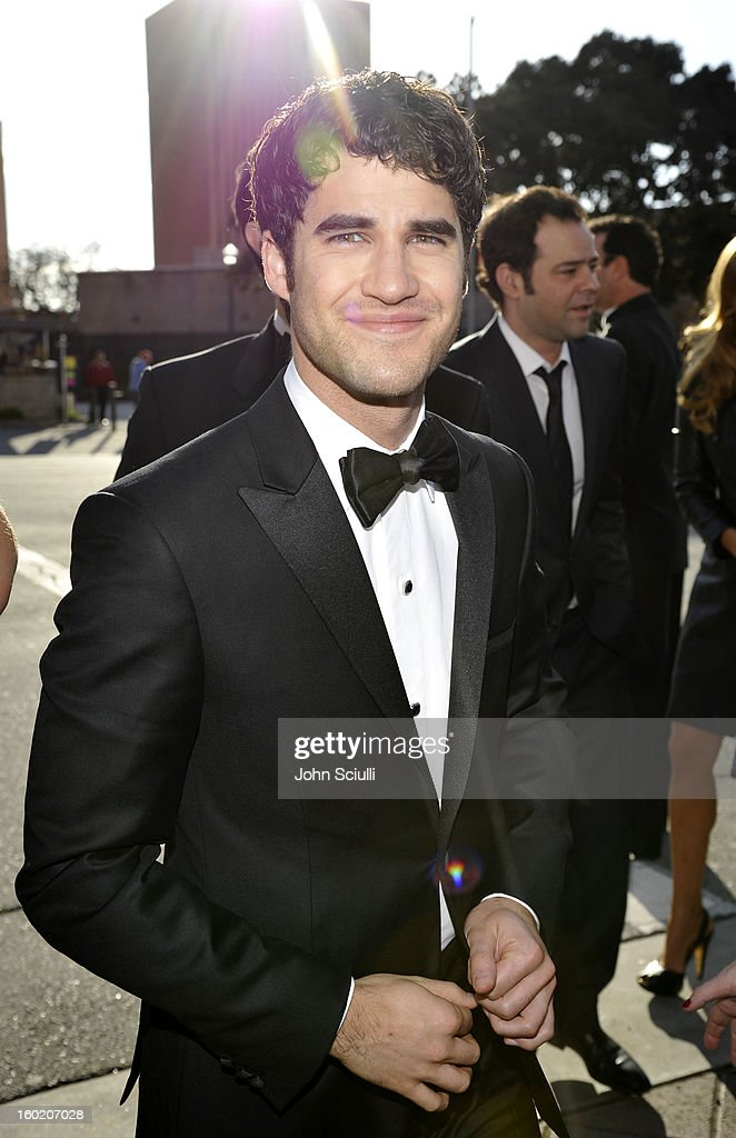 Actor Darren Criss attends the 19th Annual Screen Actors Guild Awards at The Shrine Auditorium on January 27, 2013 in Los Angeles, California. (Photo by John Sciulli/WireImage) 23116_015_0306.JPG