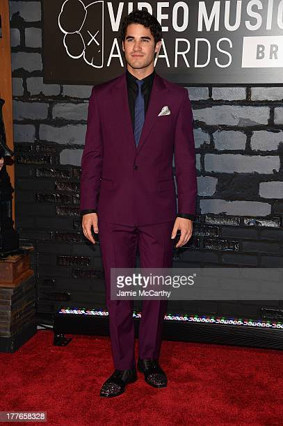 Actor Darren Criss attends the 2013 MTV Video Music Awards at the Barclays Center on August 25 2013 in the Brooklyn borough of New York City