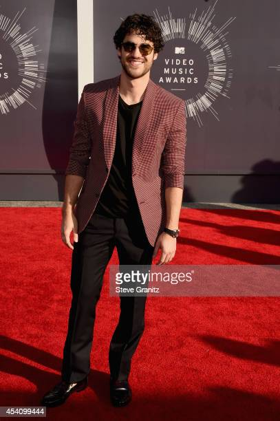 Actor Darren Criss attends the 2014 MTV Video Music Awards at The Forum on August 24 2014 in Inglewood California