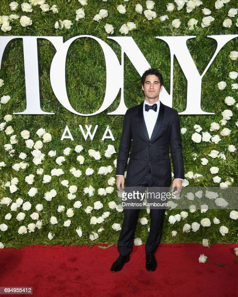 Actor Darren Criss attends the 2017 Tony Awards at Radio City Music Hall on June 11 2017 in New York City