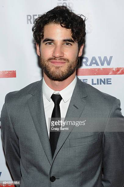Actor Darren Criss attends The Center For Reproductive Rights 2015 Gala at The Museum of Modern Art on October 27 2015 in New York City