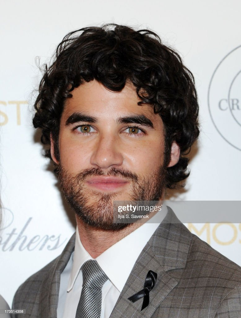 Actor <a gi-track='captionPersonalityLinkClicked' href=/galleries/search?phrase=Darren+Criss&family=editorial&specificpeople=7341435 ng-click='$event.stopPropagation()'>Darren Criss</a> attends The Cinema Society & Brooks Brothers Host A Screening Of Lionsgate And Roadside Attractions' 'Girl Most Likely's at Landmark Sunshine Cinema on July 15, 2013 in New York City.