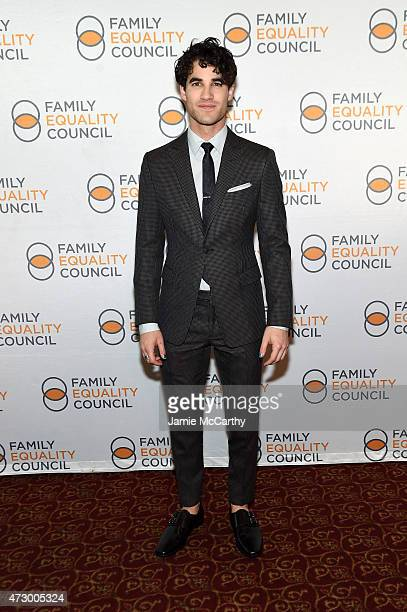 Actor Darren Criss attends the Family Equality Council's 2015 Night At The Pier at Pier 60 on May 11 2015 in New York City