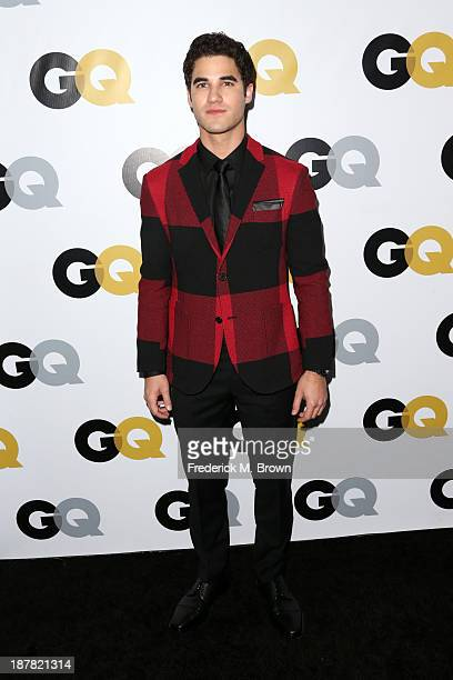 Actor Darren Criss attends the GQ Men Of The Year Party at The Ebell Club of Los Angeles on November 12 2013 in Los Angeles California