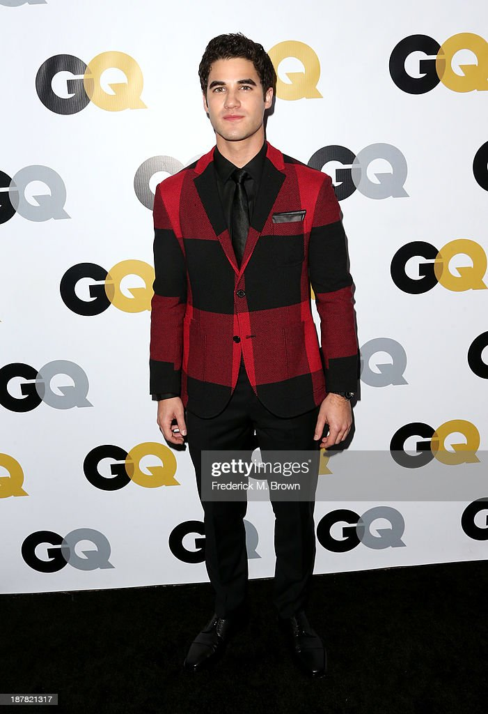 Actor <a gi-track='captionPersonalityLinkClicked' href=/galleries/search?phrase=Darren+Criss&family=editorial&specificpeople=7341435 ng-click='$event.stopPropagation()'>Darren Criss</a> attends the GQ Men Of The Year Party at The Ebell Club of Los Angeles on November 12, 2013 in Los Angeles, California.