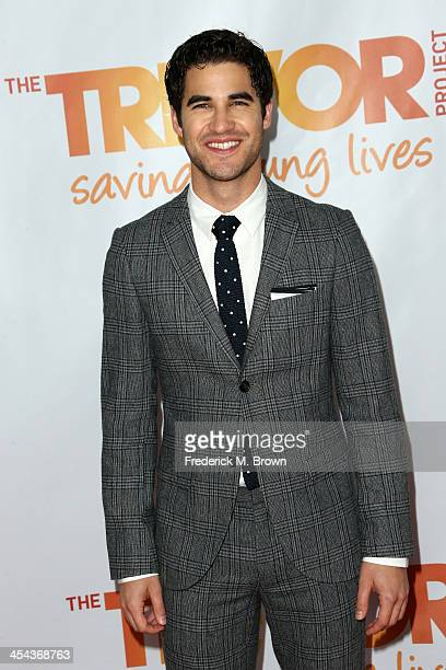 Actor Darren Criss attends 'TrevorLIVE LA' honoring Jane Lynch and Toyota for the Trevor Project at Hollywood Palladium on December 8 2013 in...