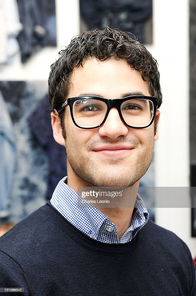 Actor Darren Criss poses at the Guess Portrait Studio on Day 3 during the 2012 Toronto International Film Festival at Bell Lightbox on September 8, 2012 in Toronto, Canada.