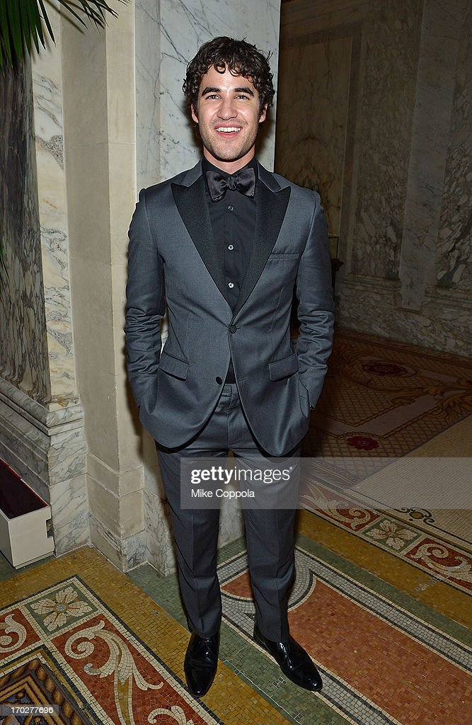 Actor <a gi-track='captionPersonalityLinkClicked' href=/galleries/search?phrase=Darren+Criss&family=editorial&specificpeople=7341435 ng-click='$event.stopPropagation()'>Darren Criss</a> poses for a picture on June 9, 2013 in New York City.