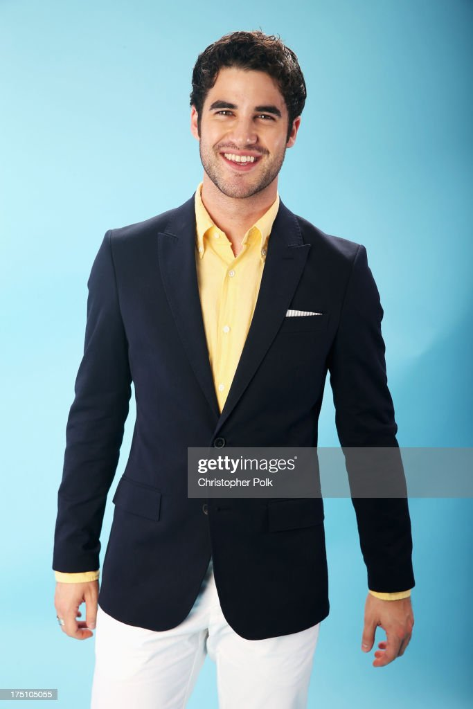 Actor Darren Criss poses for a portrait at the DoSomething.org and VH1's 2013 Do Something Awards at Avalon on July 31, 2013 in Hollywood, California.