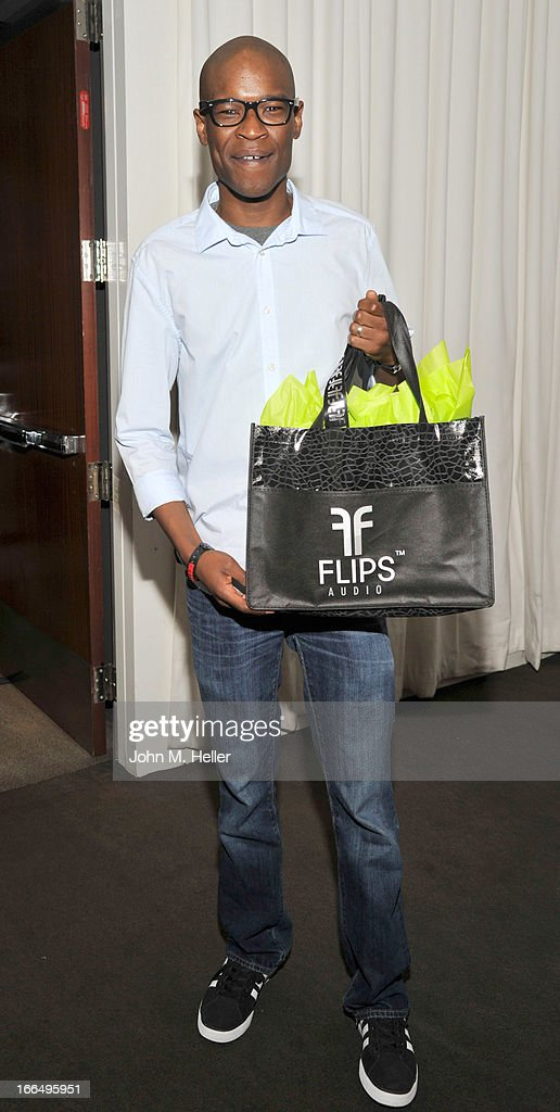 Actor Darren Evans attends the Flips Audio MTV Awards Secret Room gifting suite at the SLS Hotel on April 12, 2013 in Beverly Hills, California.