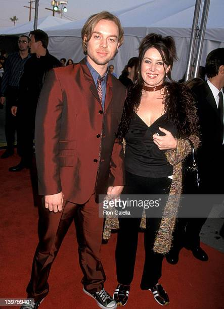 Actor Darren Hayes attends 29th Annual American Music Awards on January 9 2002 at the Shrine Auditorium in Los Angeles California