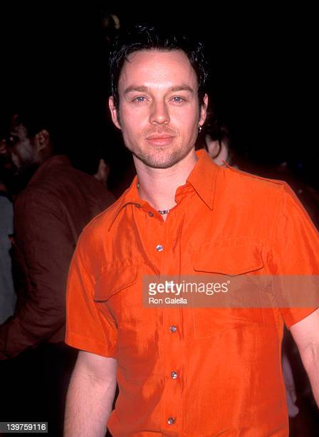 Actor Darren Hayes attends the premiere of 'Bowfinger' on July 26 1999 at the Ziegfeld Theater in New York City
