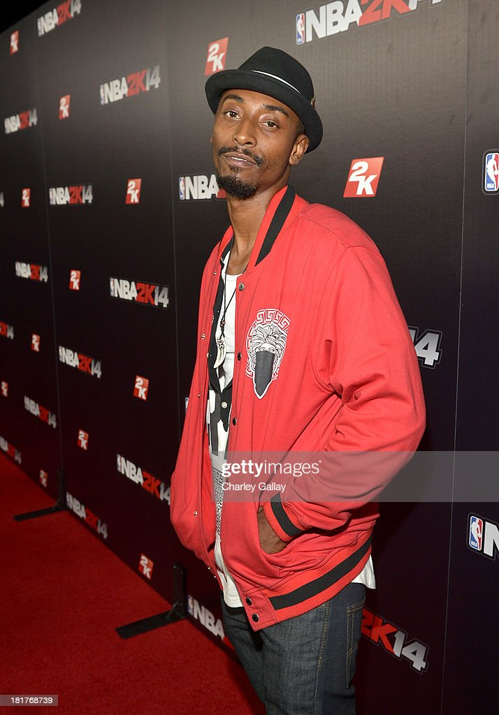 Actor Darris Love attends the NBA 2K14 premiere party at Greystone Manor on September 24, 2013 in West Hollywood, California.