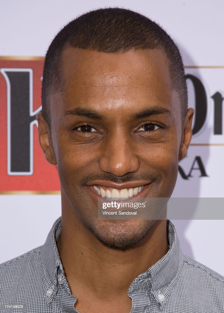 Actor Darryl Stephens attends GLAAD's annual food-themed fundraiser 'GLAAD Hancock Park' on July 20, 2013 in Los Angeles, California.