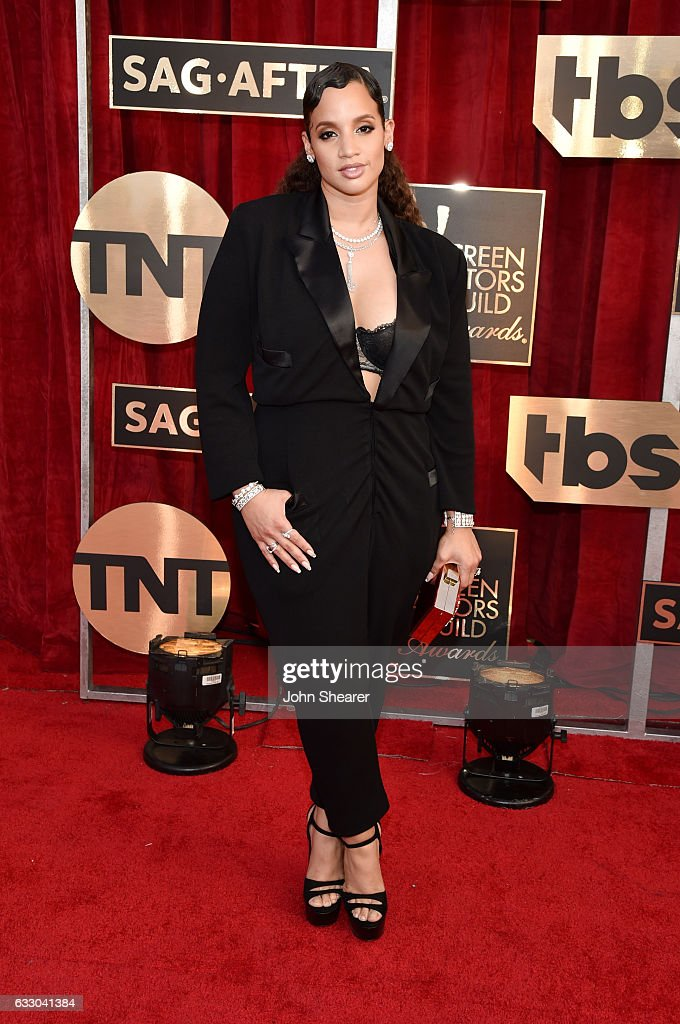 Actor Dascha Polanco attends The 23rd Annual Screen Actors Guild Awards at The Shrine Auditorium on January 29, 2017 in Los Angeles, California.