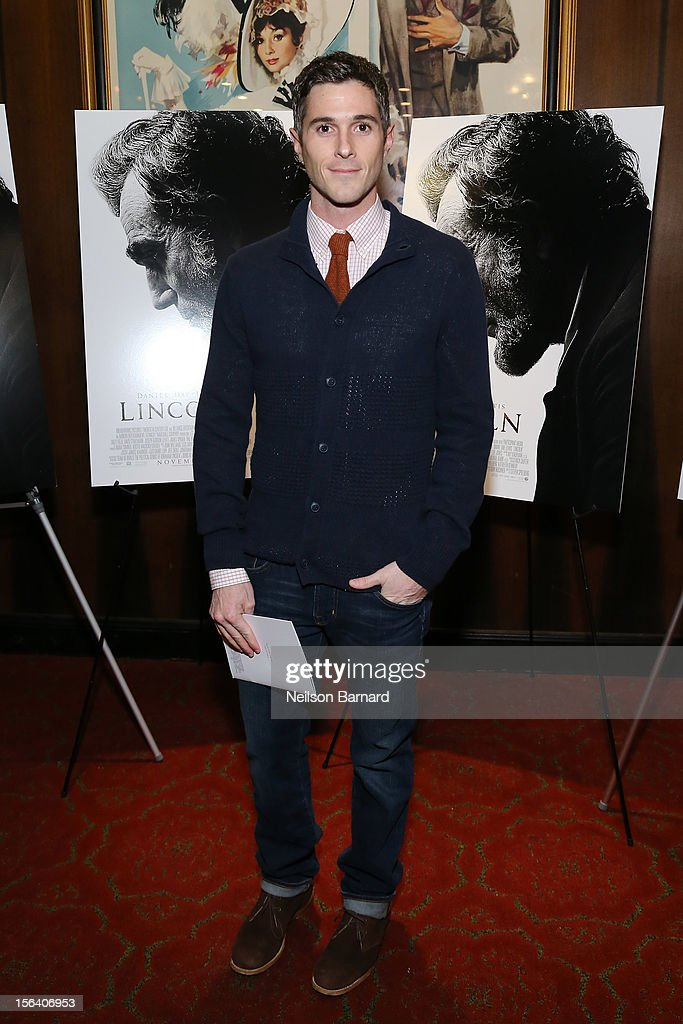 Actor Dave Annable attends the special screening of Steven Spielberg's Lincoln at the Ziegfeld Theatre on November 14, 2012 in New York City.