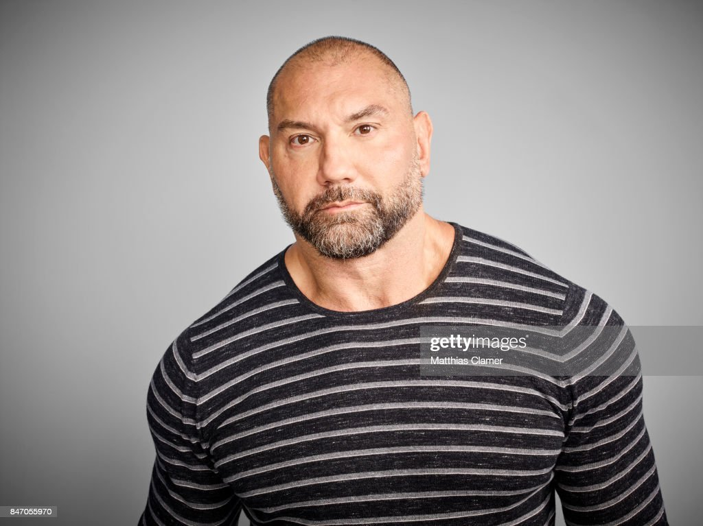 Actor Dave Bautista from 'Guardians of the Galaxy Vol. 2' is photographed for Entertainment Weekly Magazine on July 23, 2016 at Comic Con in the Hard Rock Hotel in San Diego, California.