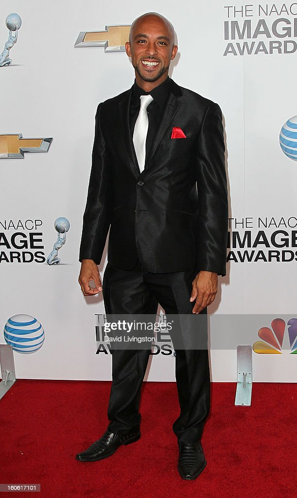 Actor Dave Bianchi attends the 44th NAACP Image Awards at the Shrine Auditorium on February 1, 2013 in Los Angeles, California.