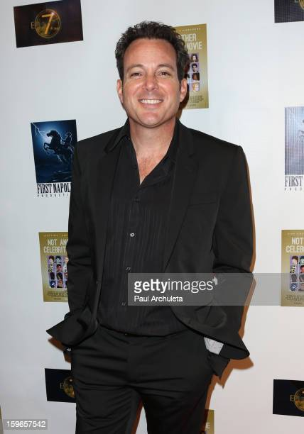 Actor Dave Burleigh attends the premiere for 'Not Another Celebrity Movie' at Pacific Design Center on January 17 2013 in West Hollywood California