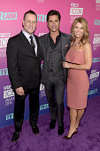 Actor Dave Coulier actor John Stamos and actress Lori Loughlin attend 2016 TV Land Icon Awards at The Barker Hanger on April 10 2016 in Santa Monica...