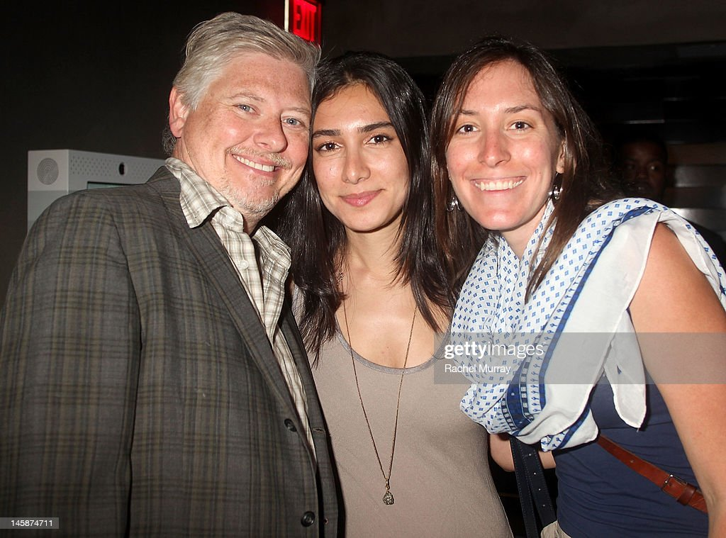 Actor Dave Foley (L) and guests attend the VIP red carpet cocktail party hosted by WIKIPAD and NVIDIA as part of the celebrations for E3, 2012 held at Elevate Lounge on June 6, 2012 in Los Angeles, California.
